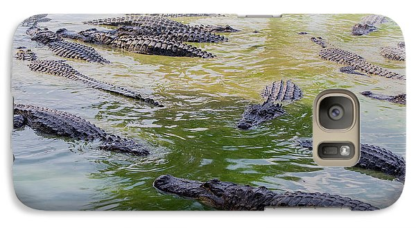 Usa, Florida, Ochopee Galaxy S7 Case by Charles Crust
