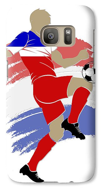 Usa Soccer Player Galaxy Case by Joe Hamilton