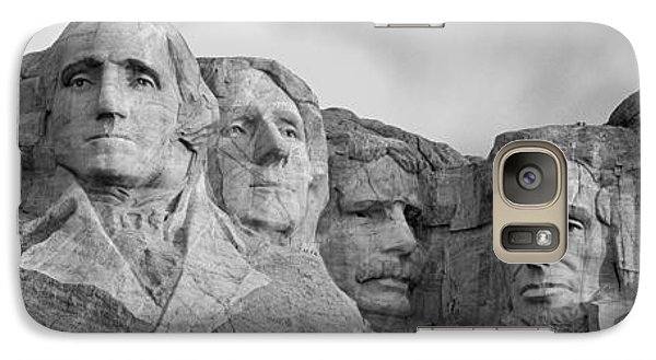 Usa, South Dakota, Mount Rushmore, Low Galaxy S7 Case by Panoramic Images