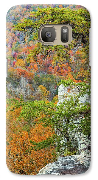 Buzzard Galaxy S7 Case - Usa, Tennessee, Fall Creek Falls State by Jaynes Gallery