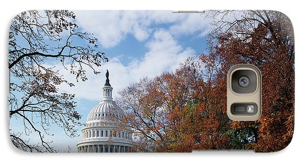 Capitol Building Galaxy S7 Case - Usa, Washington Dc, View Of Capitol by Scott T. Smith