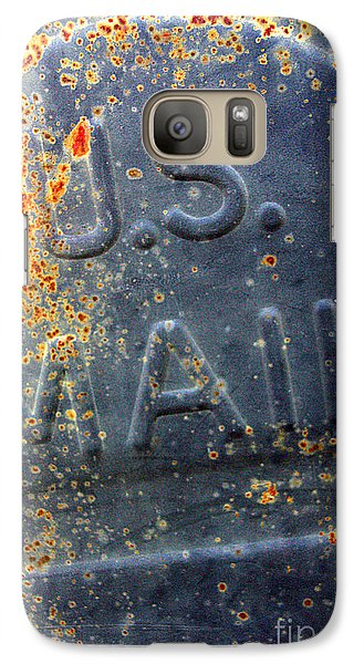 Galaxy Case featuring the photograph U.s.mail by Joanne Coyle