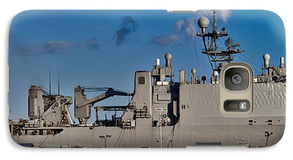 Uss Fort Mchenry Galaxy S7 Case