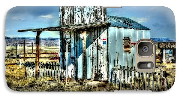 Galaxy Case featuring the photograph Utah Post Office by Mary Timman