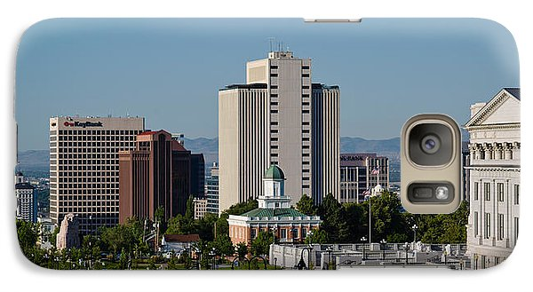 Utah State Capitol Building, Salt Lake Galaxy S7 Case by Panoramic Images