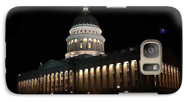 Galaxy Case featuring the photograph Utah State Capitol East by David Andersen