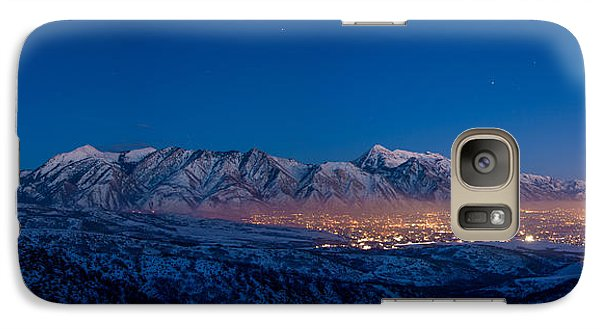 Mount Rushmore Galaxy S7 Case - Utah Valley by Chad Dutson