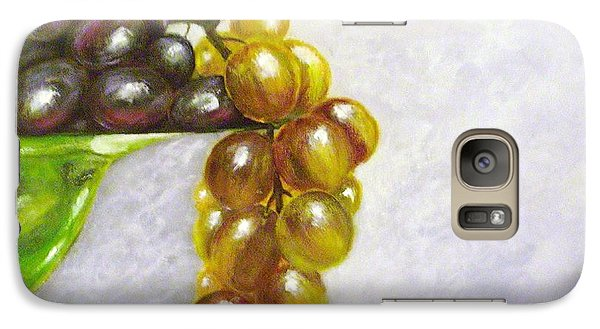 Galaxy Case featuring the painting Uva by Kathleen Pio