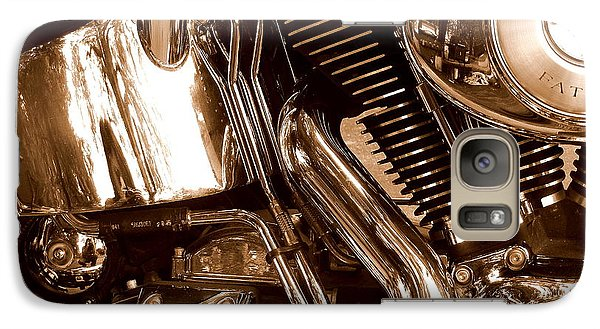 Galaxy Case featuring the photograph V Twin  by Karen Kersey