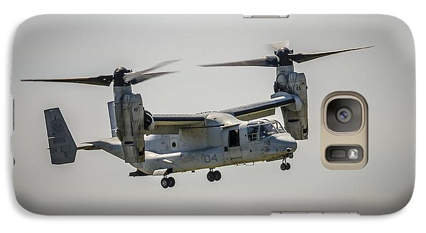Galaxy Case featuring the photograph V22 Osprey by Bradley Clay