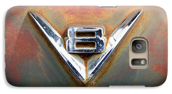 Galaxy Case featuring the photograph V8 Ford by Bud Simpson