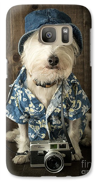 Vacation Dog Galaxy S7 Case