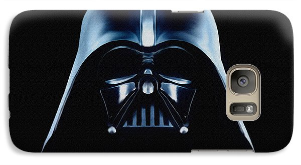 Galaxy Case featuring the painting Vader by Jeff DOttavio