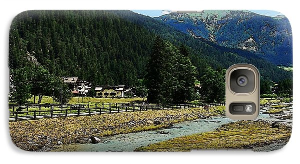 Galaxy Case featuring the photograph Val Di Fassa by Zinvolle Art