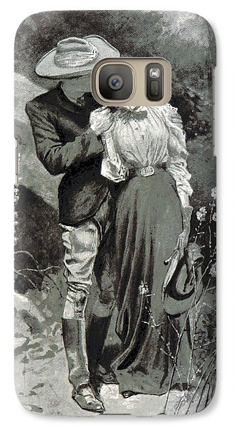 Galaxy Case featuring the photograph Valentines Day, 1898 by British Library