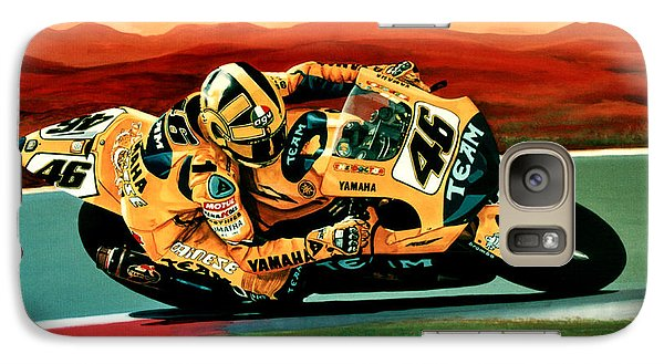 Goat Galaxy S7 Case - Valentino Rossi The Doctor by Paul Meijering