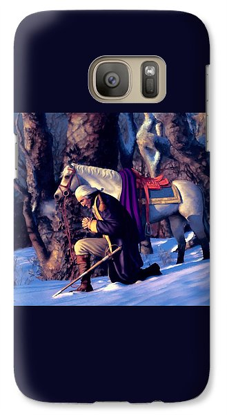 Galaxy Case featuring the painting Valley Forge by Dave Luebbert