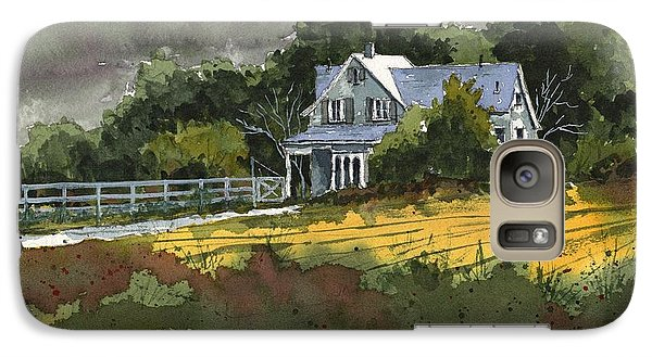 Galaxy Case featuring the painting Valley Home by Tim Oliver