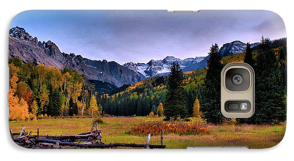 Galaxy Case featuring the photograph Valley Of Mt Sneffels by Steven Reed