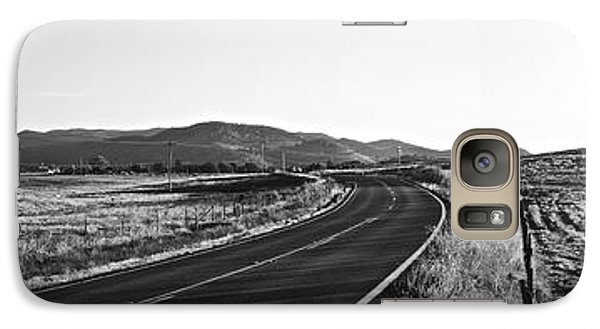 Galaxy Case featuring the photograph Valley Springs Road Panorama by Lennie Green