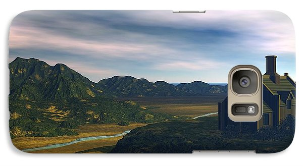 Galaxy Case featuring the digital art Valley View by John Pangia