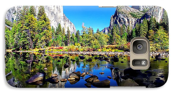 Valley View Reflection Yosemite National Park Galaxy S7 Case