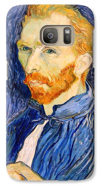 Galaxy Case featuring the photograph Van Gogh On Van Gogh by Cora Wandel