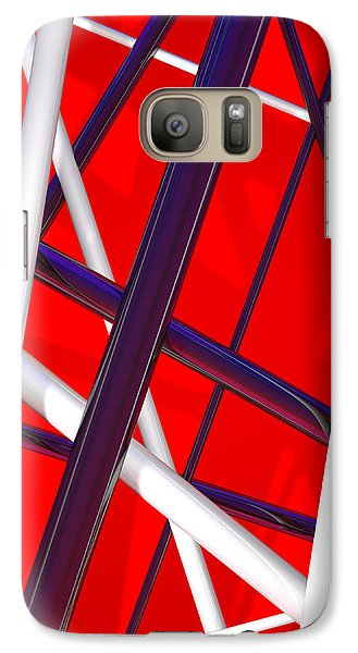 Van Halen 3d Iphone Cover Galaxy S7 Case by Andi Blair