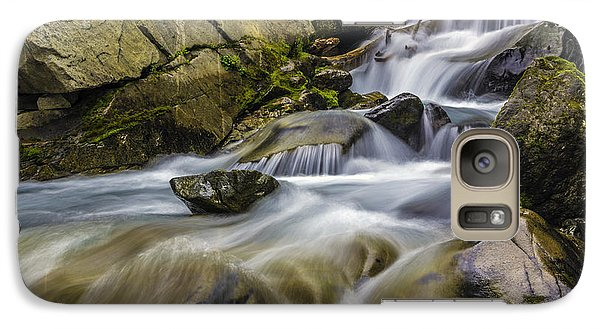 Galaxy Case featuring the photograph Van Trump Creek Mount Rainier National Park by Bob Noble Photography
