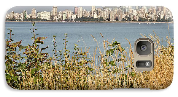 Galaxy Case featuring the photograph Vancouver Bc Downtown From Hasting Mills Park by JPLDesigns