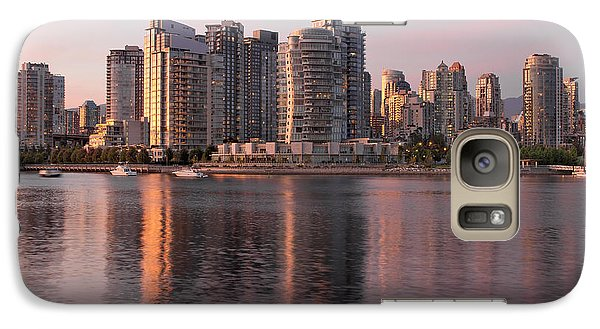 Galaxy Case featuring the photograph Vancouver Bc Waterfront Condominiums by JPLDesigns