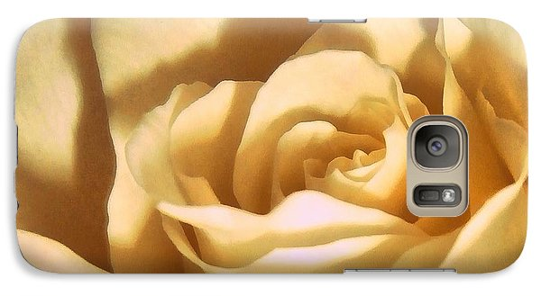 Galaxy Case featuring the photograph Vanilla Rose  by Janine Riley
