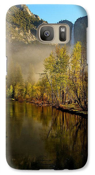 Galaxy Case featuring the photograph Vanishing Mist by Duncan Selby