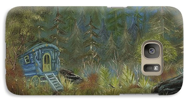 Galaxy Case featuring the painting Vardo Dream by The GYPSY And DEBBIE