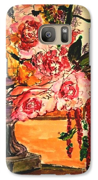 Galaxy Case featuring the painting Vartuhee by Helena Bebirian