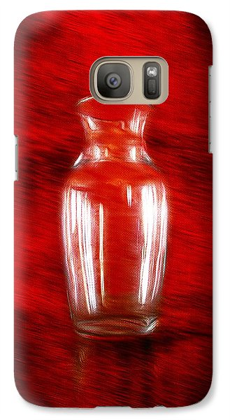 Galaxy Case featuring the photograph Vase En Rouge by Aaron Berg