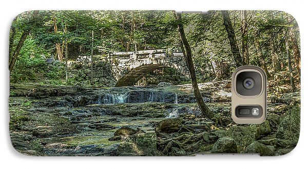 Galaxy Case featuring the photograph Vaughan Woods Bridge by Jane Luxton