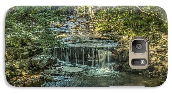 Galaxy Case featuring the photograph Vaughan Woods Stream by Jane Luxton