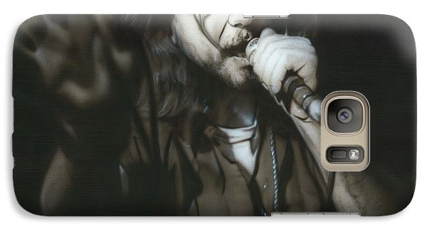 Eddie Vedder - ' Vedder IIi ' Galaxy Case by Christian Chapman Art