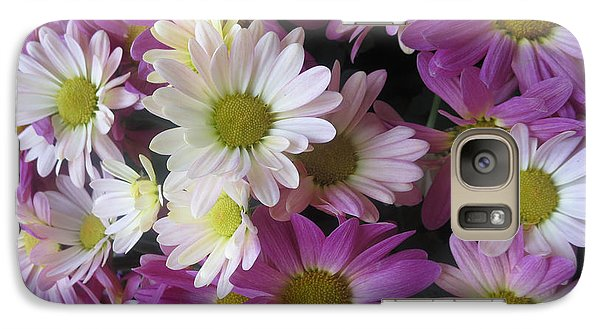 Galaxy Case featuring the photograph Vegas Butterfly Garden Flowers Colorful Romantic Interior Decorations by Navin Joshi