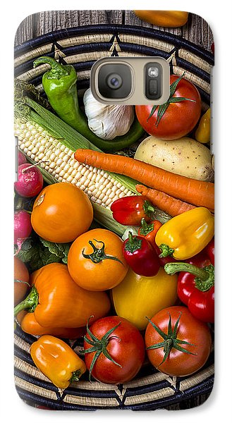 Vegetable Basket    Galaxy S7 Case by Garry Gay