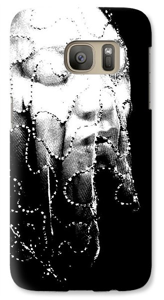 Galaxy Case featuring the photograph Veiled Princess by Cleaster Cotton