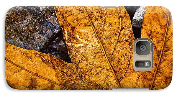 Galaxy Case featuring the photograph Veins by Anthony Citro