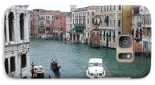 Galaxy Case featuring the photograph Venetian Canal  by Kristine Bogdanovich