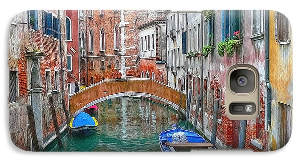 Galaxy Case featuring the photograph Venetian Idyll by Hanny Heim