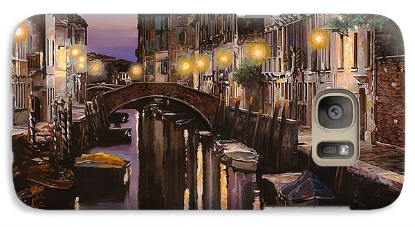 Boat Galaxy S7 Case - Venezia Al Crepuscolo by Guido Borelli