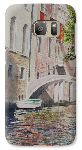 Galaxy Case featuring the painting Venice 2000 by Carol Flagg