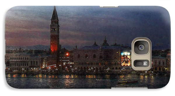 Galaxy Case featuring the photograph Venice By Night by Hanny Heim