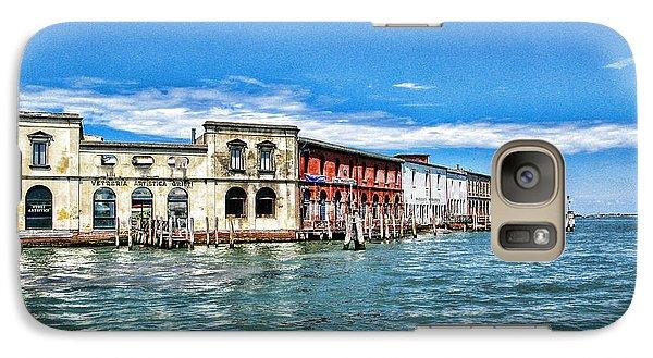 Galaxy Case featuring the photograph Venice By Sea by Oscar Alvarez Jr
