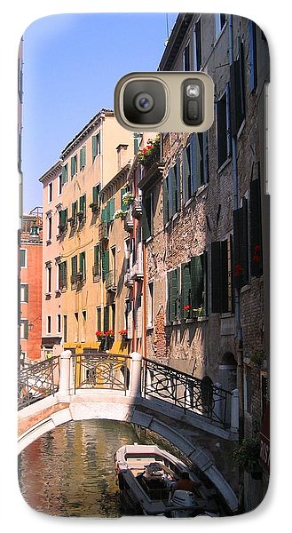 Galaxy Case featuring the photograph Venice by Dany Lison